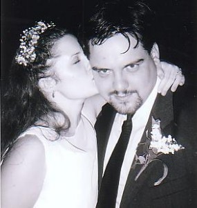 Reception Kiss - August 27, 1999
